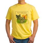 Feather-leg Trio Yellow T-Shirt