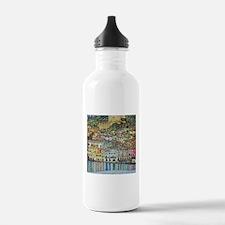 lake garda klimt Water Bottle