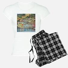 lake garda klimt Pajamas