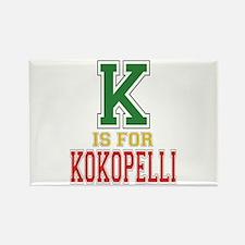 K is for Kokopelli Rectangle Magnet