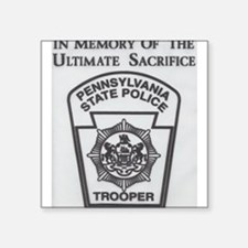 Helping Pennsylvania State Police Sticker