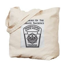 Helping Pennsylvania State Police Tote Bag