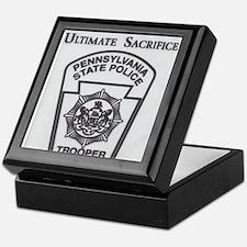 Helping Pennsylvania State Police Keepsake Box