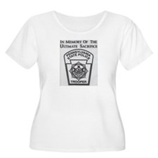 Helping Pennsylvania State Police Plus Size T-Shir