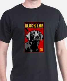 Obey the BLACK LAB! Black T-Shirt