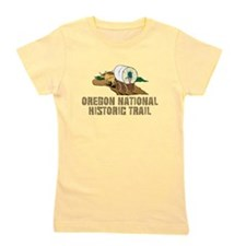 ABH Oregon National Historic Trail Girl's Tee