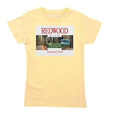Redwood Americasbesthistory.com Girl's Tee