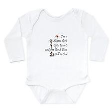 TOP Ice Rink Diva Long Sleeve Infant Bodysuit