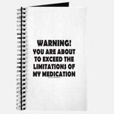 LIMITATIONS OF MY MEDICATION Journal