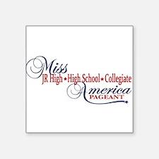 Miss High School America Pageants Sticker