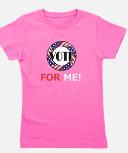 Vote for Me Girl's Tee
