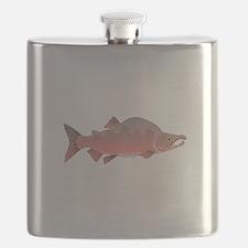 Pink Humpy Male salmon f Flask