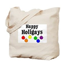 Happy Holigays Tote Bag