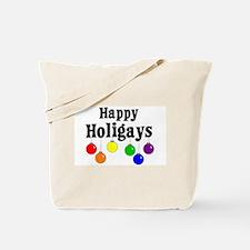 Happy Holigays Tote Bag
