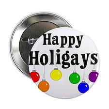 Happy Holigays Button