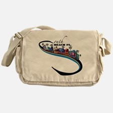 south beach Messenger Bag