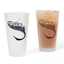 south beach Drinking Glass