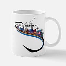south beach Mug