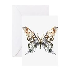 Industrial Butterfly Greeting Card