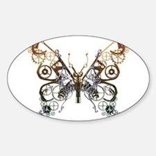Industrial Butterfly Decal