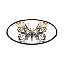 Industrial Butterfly Patches