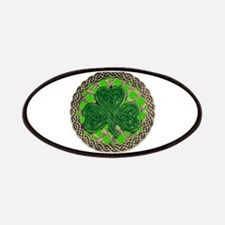 Shamrock And Celtic Knots Patches