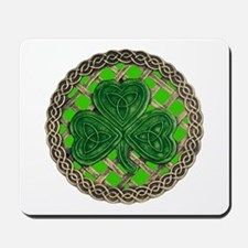 Shamrock And Celtic Knots Mousepad
