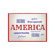 Celebrate America 5'x7'Area Rug