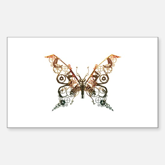 Industrial Butterfly (Copper) Decal
