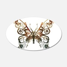 Industrial Butterfly (Copper) Wall Decal