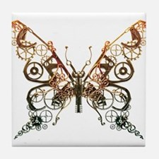 Industrial Butterfly (Copper) Tile Coaster