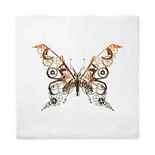 Industrial Butterfly (Copper) Queen Duvet