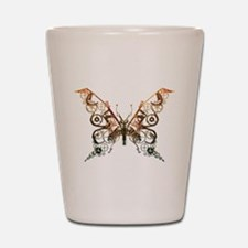 Industrial Butterfly (Copper) Shot Glass