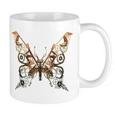 Industrial Butterfly (Copper) Mug