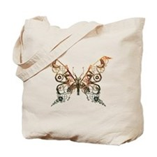 Industrial Butterfly (Copper) Tote Bag