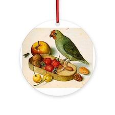 Pygmy parrot, Flegel Ornament (Round)