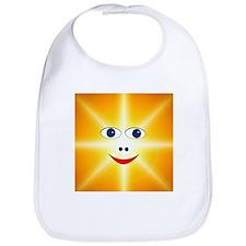 Smiley Sun Bib