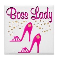 BOSS LADY Tile Coaster