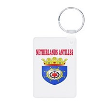 Netherlands Antilles Coat Of Arms Designs Keychains
