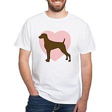 Weimaraner Heart Shirt