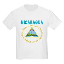 Nicaragua Coat Of Arms Designs T-Shirt