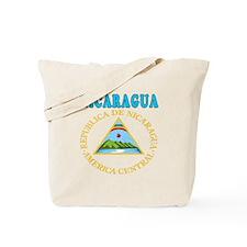 Nicaragua Coat Of Arms Designs Tote Bag