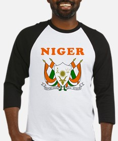 Niger Coat Of Arms Designs Baseball Jersey
