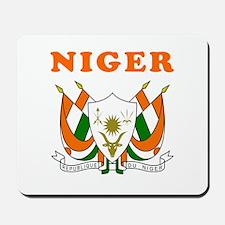 Niger Coat Of Arms Designs Mousepad