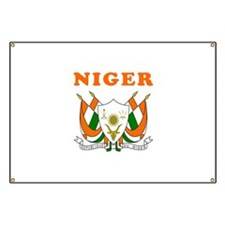 Niger Coat Of Arms Designs Banner