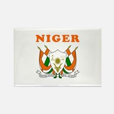 Niger Coat Of Arms Designs Rectangle Magnet