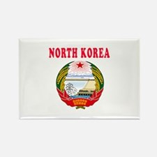 North Korea Coat Of Arms Designs Rectangle Magnet