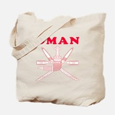 Oman Coat Of Arms Designs Tote Bag