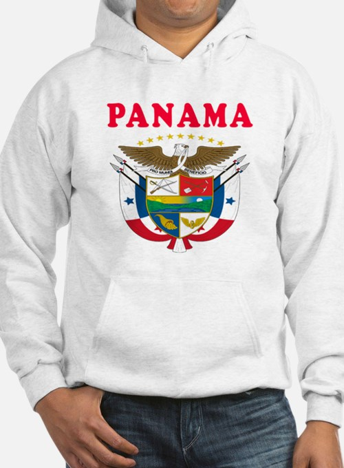 Panama Coat Of Arms Designs Hoodie