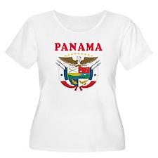Panama Coat Of Arms Designs T-Shirt
